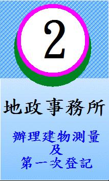 2.地政事務所-辦理建物測量及第一次登記